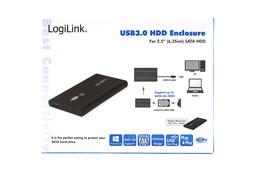 LogiLink 2.5 inch SATA-USB 3.0 külső winchester keret (fekete)