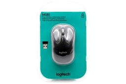 Logitech m185 USB Szürke optikai vezeték nélküli egér (910-002238)