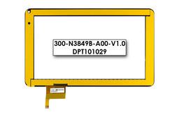 Érintő panel, touchscreen M-Tech aTAB9S tablethez (300-N3849B-A00-V1.0)