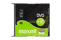 Maxell DVD+R lemez 4.7GB 16x slim tok, MXL 275637.30.TW