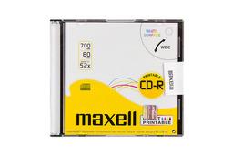 Maxell nyomtatható CD lemez slim tok 52x
