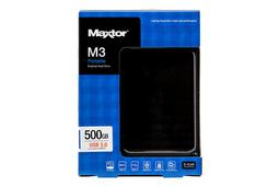 Maxtor - Seagate M3 500GB külső (USB 3.0, USB 2.0) winchester (HX-M500TCB/GMR)