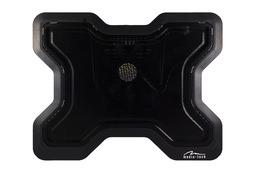 Media-Tech MT2655 Heat Buster 1 fekete laptop hűtőpad (12cm ventilátor)