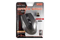 Media Tech Office Ergo vezeték nélküli USB optikai egér, MT1112