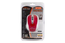 Media Tech Port RF vezeték nélküli USB piros optikai egér, MT1098