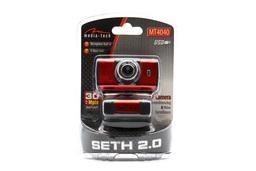 Media-Tech Seth 2.0 megapixeles USB-s webkamera beépített mikrofonnal (MT4040)
