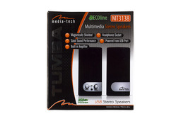 Media-tech USB-s sztereó hangszóró, MT3138