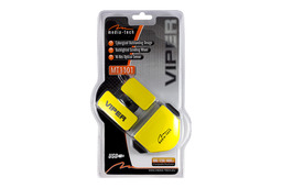 Media-Tech VIPER vezetékes USB optikai egér, sárga (MT1101)