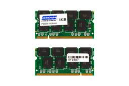 1GB DDR 400MHz használt laptop memória