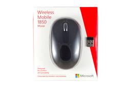 Microsoft Wireless Mobile 1850 USB-s vezeték nélküli fekete optikai egér