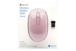 Microsoft Wireless Mobile 1850 USB-s vezeték nélküli rózsaszín optikai egér