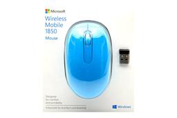 Microsoft Wireless Mobile 1850 USB-s vezeték nélküli világoskék optikai egér