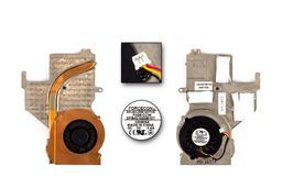 MSI 16331-M677X laptophoz használt hűtőventilátor és hűtőborda (E32-0401360-F05)