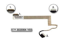 MSI A6200, CX623, CR620 laptophoz használt 15,6 kijelző kábel (K19-3025004-V03)