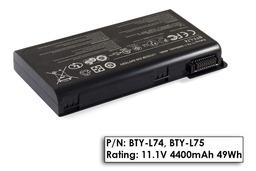 MSI CR600, CR610, CX600 használt 6 cellás 95%-os laptop akku/akkumulátor (BTY-L74, BTY-L75)
