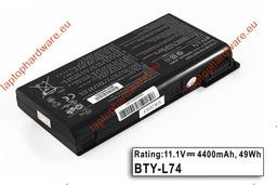 MSI CR600, CR610, CX600 használt 75%-os 6 cellás helyettesítő laptop akku/akkumulátor (BTY-L74, BTY-L75)