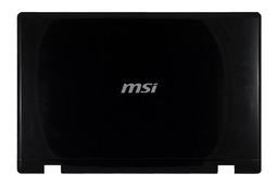 MSI CR600, CX600, CR610X laptophoz használt B kategóriás LCD hátlap, E2P-682A212-Y31