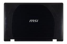 MSI CR600, CX600, CR610X laptophoz használt LCD hátlap, E2P-682A512-Y31