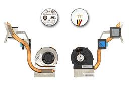 MSI CR610, CR610X, CR630 laptophoz gyári új komplett hűtő ventilátor, E32-0800640-TA9