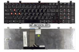 MSI CR610X, CX600, EX600, GX700, VR601, VR700 használt magyarított gamer billentyűzet, MP-08C23CB-3591