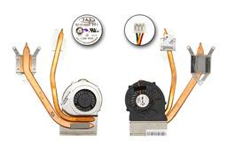 MSI CR620, CX620, CX623 laptophoz gyári új komplett hűtő ventilátor (E32-0800564-TA9)