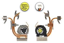 MSI CX600, CX600X használt komplett laptop hűtő ventilátor egység (E32-0800220-F05)