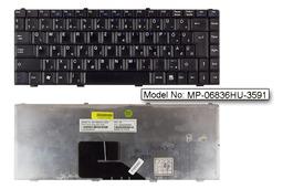 MSI EX300, GX400, PR2000 használt magyar fekete laptop billentyűzet (MP-06836HU-3591)