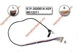 MSI EX300, PR200, PR210 használt laptop LCD kijelző kábel (K19-3020014-H58)