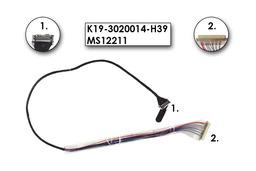 MSI EX300, PR200, PR210 gyári új laptop LCD kijelző kábel (K19-3020014-H39)