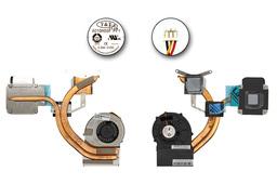 MSI EX620, EX623, EX625, EX630 gyári új komplett laptop hűtő ventilátor, E32-1700061-TA9