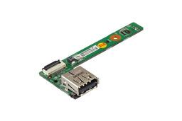 MSI EX623 laptophoz használt USB és bekapcsoló gomb panel