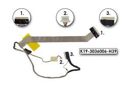 MSI EX720, GX720 használt kijelző kábel (K19-3036006-H39)