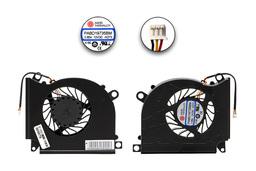 MSI GT60, GT70, GT780 gyári új laptop hűtő ventilátor (E33-0800184-MC2, PABD19735BM, N273)