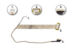 MSI GX610, M670, MS-1034, VR610, VR610X laptophoz használt kijelző kábel (K19-3040002-H39)