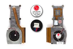MSI Megabook 520, M520B gyári új laptop hűtő ventilátor (E32-0100180-L01)