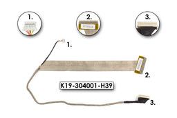 MSI Megabook GX600 laptophoz használt LCD kábel (15.4inch)(K19-304001-H39)