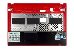 MSI Megabook GX620, GX630, GX633X laptophoz használt felső fedél touchpaddal, E2P-651C111-Y31