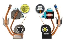MSI MS-1675, GE600 gyári új laptop komplett hűtés (Discrete (ATI)) (F8U2, E32-0800272-F05)