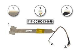 MSI VR420X, MS-1422 használt kijelző kábel (K19-3030013-H58)