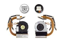 MSI VR420X MS-1422 laptophoz használt komplett hűtés (E31-0900190-TA9)