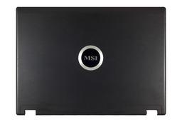 MSI VR420X, MS-1422 laptophoz, használt LCD hátlap (307-422A511-H74)