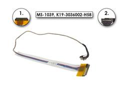 MSI VR601X, MS-163C laptophoz használt kijelző kábel (MS-1039)