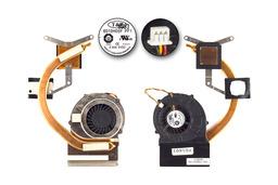MSI VR630, VR630X laptophoz  használt komplett hűtő ventilátor, E32-1700070-TA9