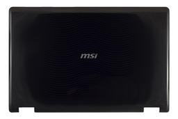 MSI VR630X laptophoz használt LCD hátlap (307-674A412-P89)