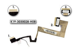 MSI Wind U100, U120, U130 (10 inch) gyári új kijelző kábel (K19-3030028-H58)