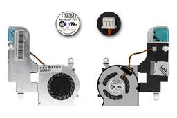 MSI Wind U160 gyári új laptop hűtő ventilátor, E32-0800531-TA9, 4510M05F PF1