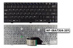 MSI Wind U90, U90X, U100, U100X gyári új US angol fekete laptop billentyűzet, V022322BS1 US