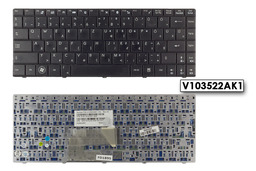 MSI X300, X410 használt magyar laptop billentyűzet, V103522AK1