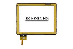 Érintő panel, touchscreen MyAudio tablethez (300-N3708A-B00)