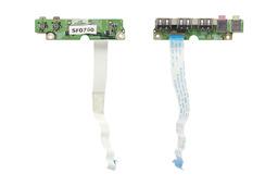 Packard Bell Ares GM2 laptophoz használt Audio és USB panel (32PB2UB0010)